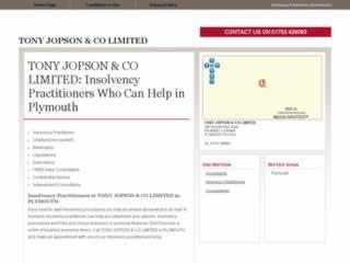 Plymouth Accountants Tony Jopson & Co Ltd